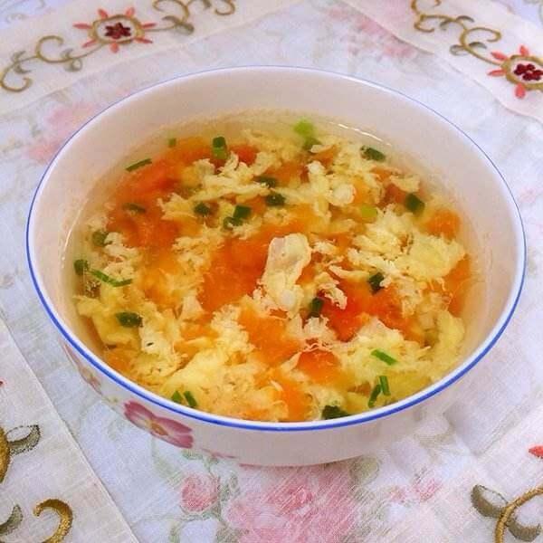 零厨艺版黄瓜鸡蛋汤