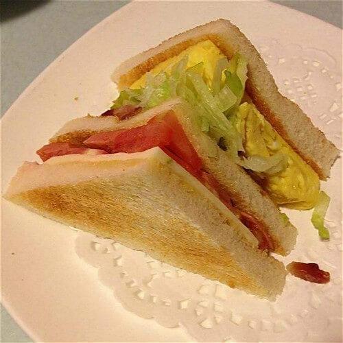 好吃的三明治串
