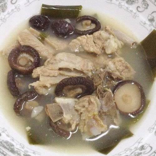 香菇海带冬瓜汤