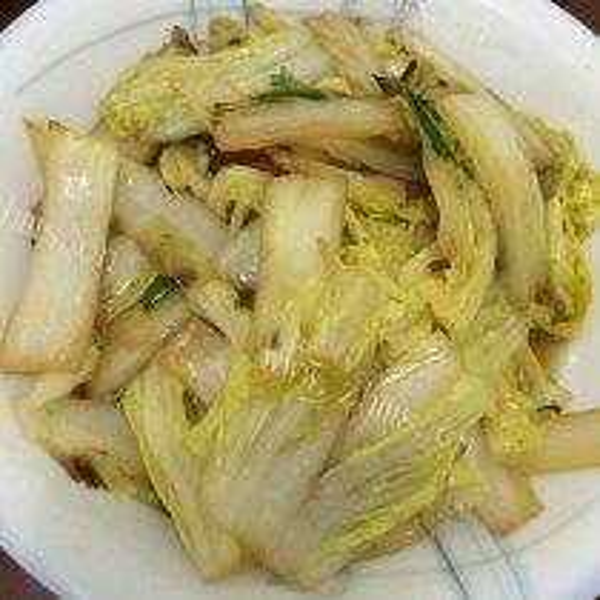 小炒大白菜