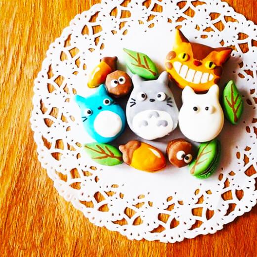 龙猫甜品盘