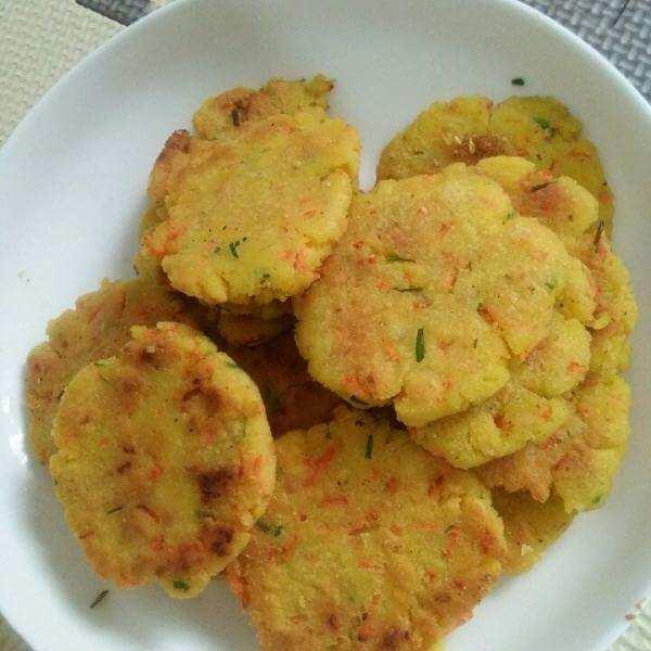 紫菜豆渣煎饼
