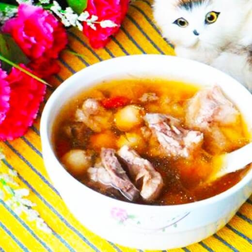 西洋参莲子排骨汤