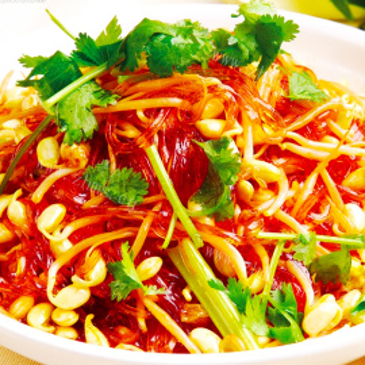 咸菜鸡丝炒黄豆