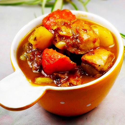 土豆番茄片