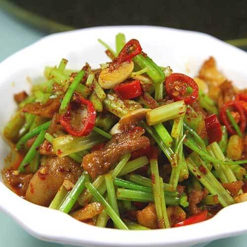 熏肉炒豆瓣