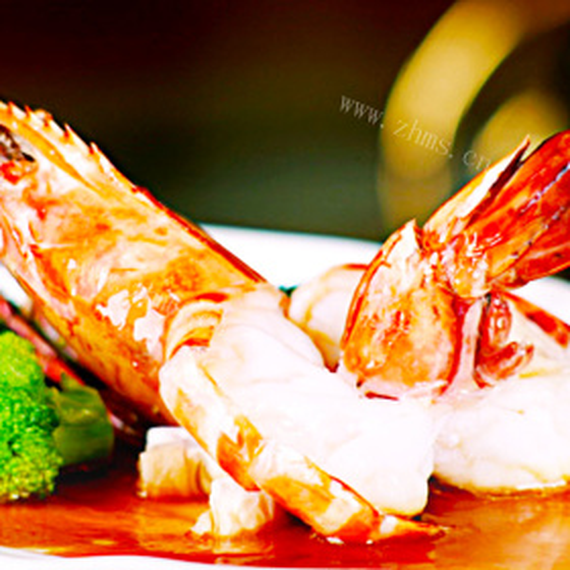 双味酱焗对虾