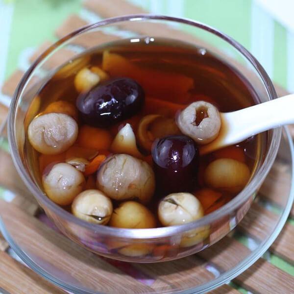 营养莲子汤