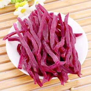 自制紫薯条