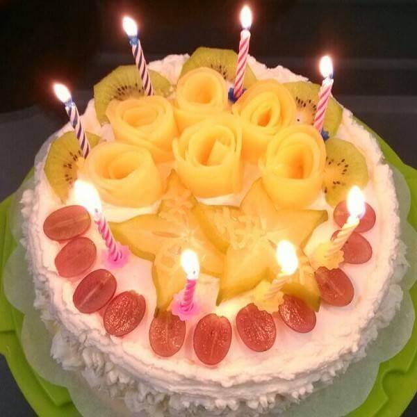 小碎花蛋糕