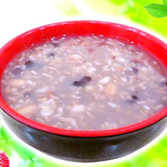 红豆意米荞麦粥