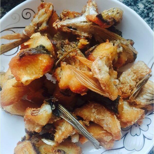 番茄豆腐炸鱼块