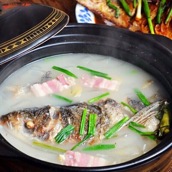 美味鲢鱼头粉皮煲