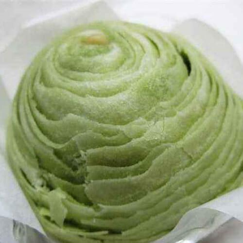 抹茶绿豆沙