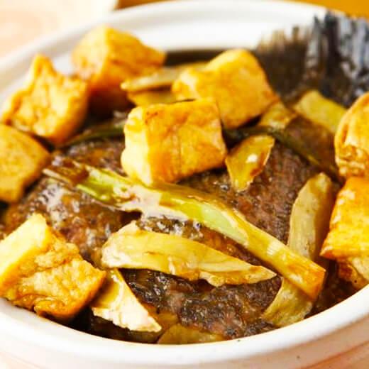家常鲈鱼豆腐煲