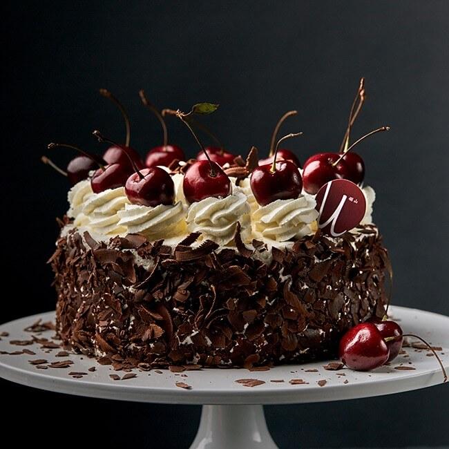 美味的森林蛋糕
