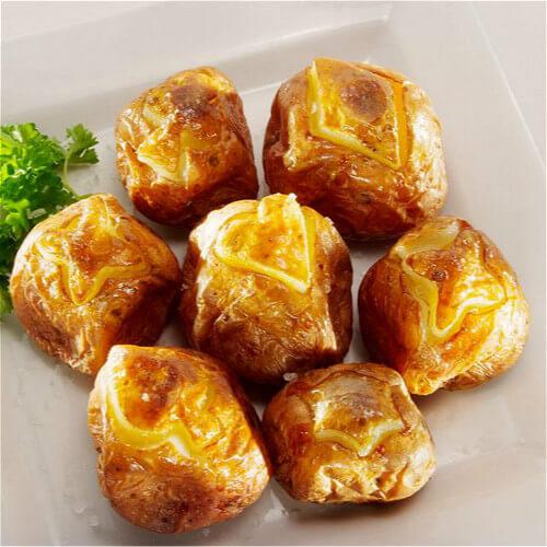 风味烤土豆