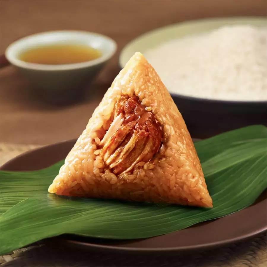 鲜肉糯米粽子