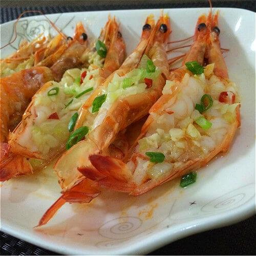 蒜蓉阿根廷红虾