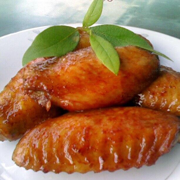 美味的南乳烤翅