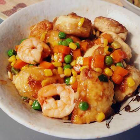 蚝油香菇玉子豆腐