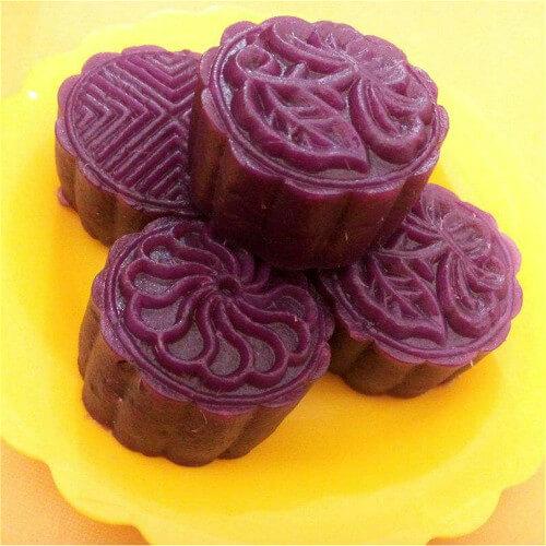 纯味紫薯饼