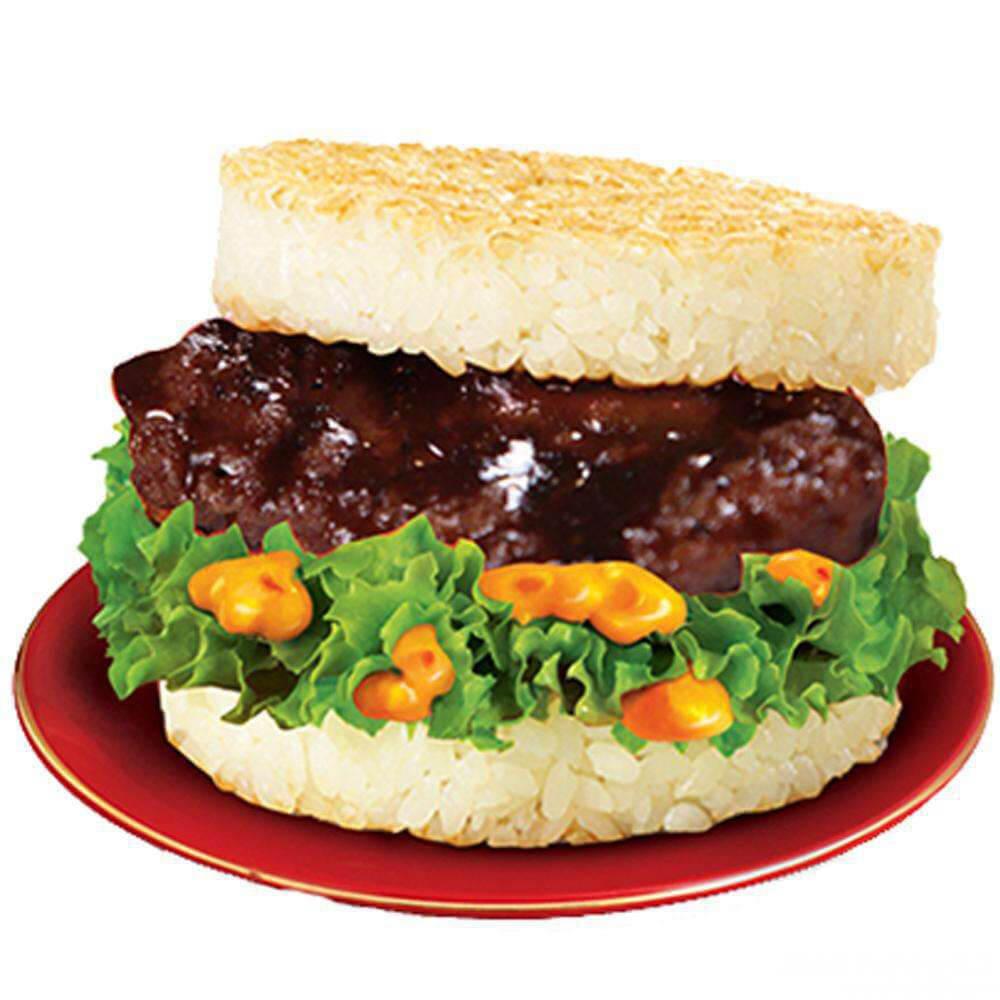 美味黑椒牛排汉堡