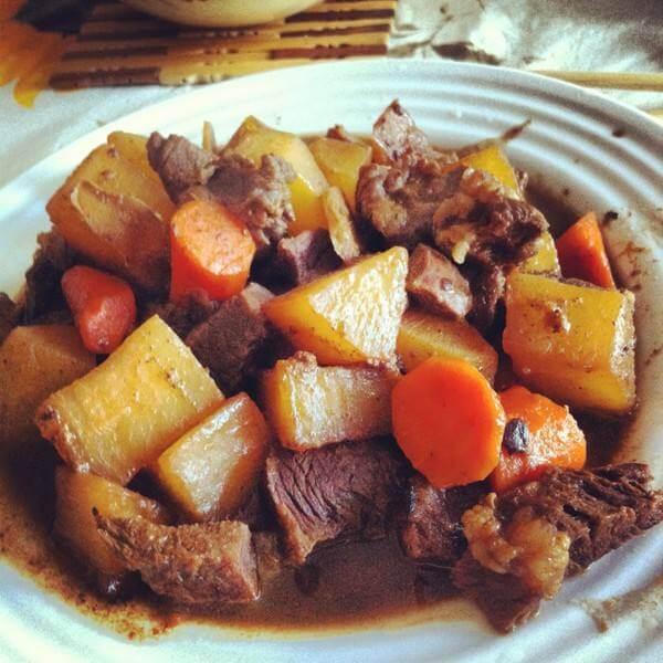香辣胡萝卜牛肉