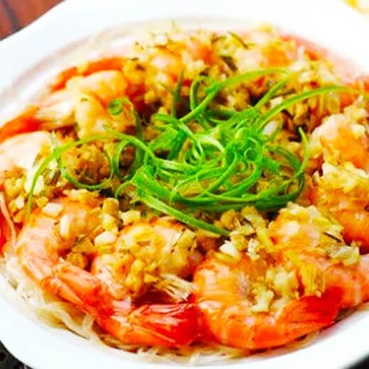 蒜蓉粉丝蒸明虾