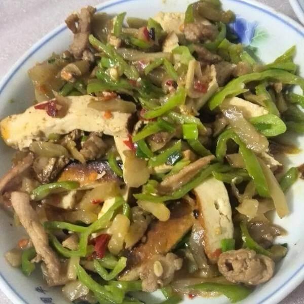 香菇炒榨菜