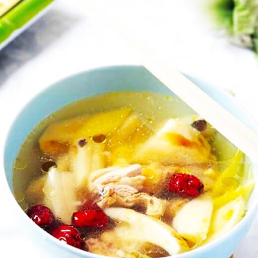 黄豆粉肠汤