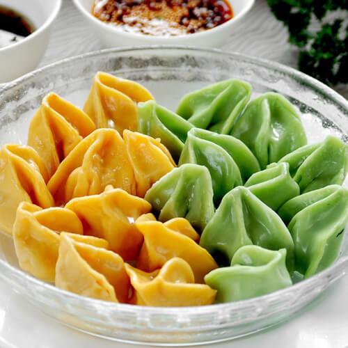 牛肉芹菜翡翠饺