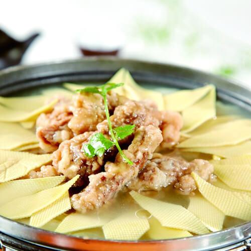 家常大头菜炖干豆腐