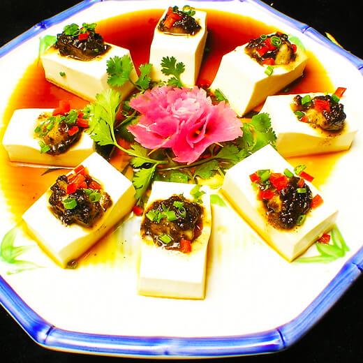 好吃的家常烩卤水豆腐