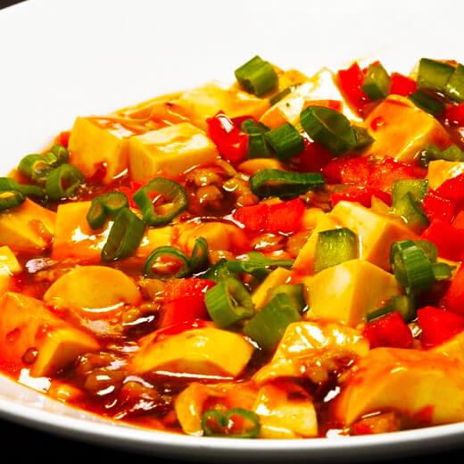 鲜虾冻豆腐煲