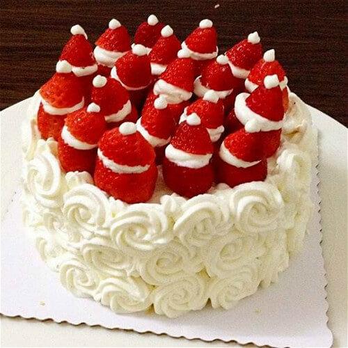 草莓水果蛋糕