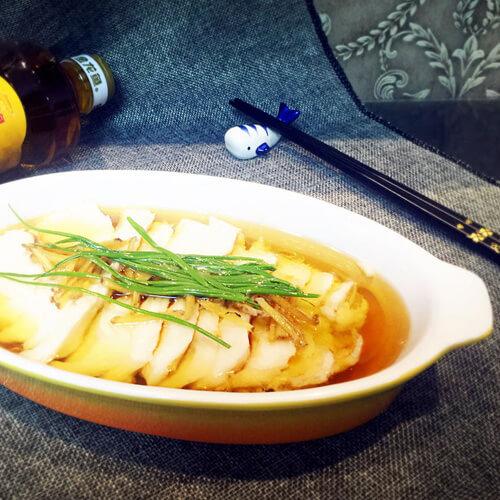 午餐美食双椒蒸龙利鱼