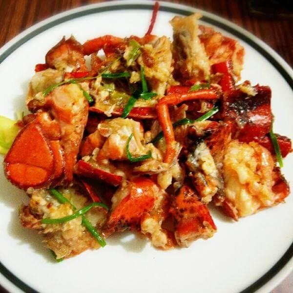 姜葱澳洲大龙虾
