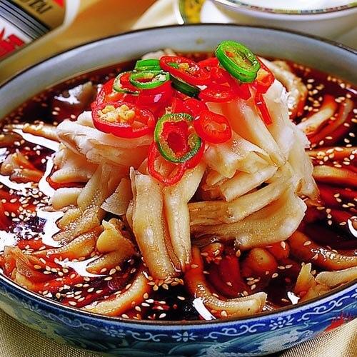 香菇鸭掌汤