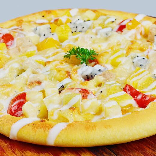 水果沙拉披萨