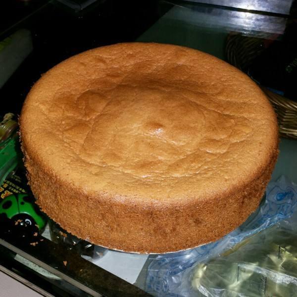 【手工美食】原味戚风蛋糕