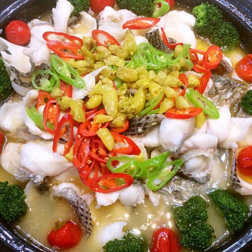 豆腐蒸香糟鱼