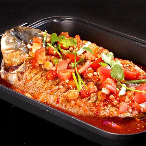 火辣辣的巴蜀烤鱼