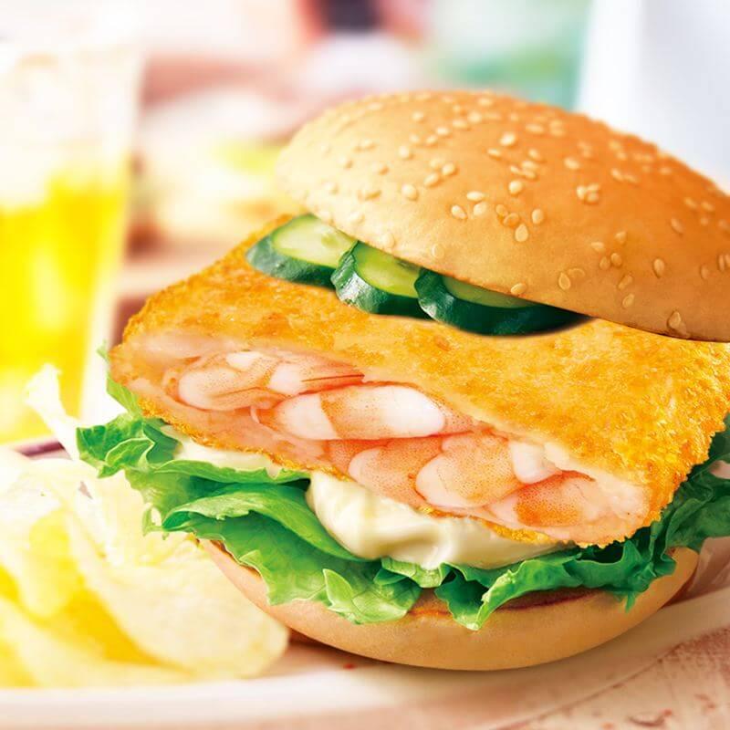 家做大虾汉堡