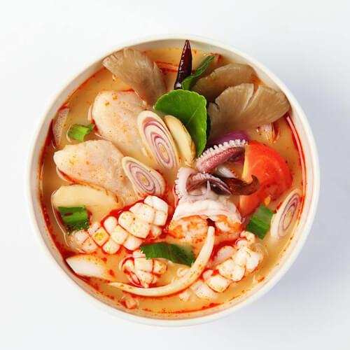 鲜香的新鱿鱼干瘦肉汤