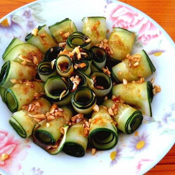 时蔬黄瓜卷