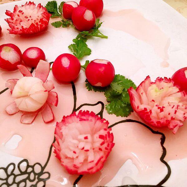 樱桃萝卜花