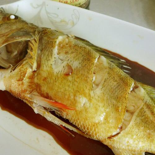 清蒸豉油鲞鱼