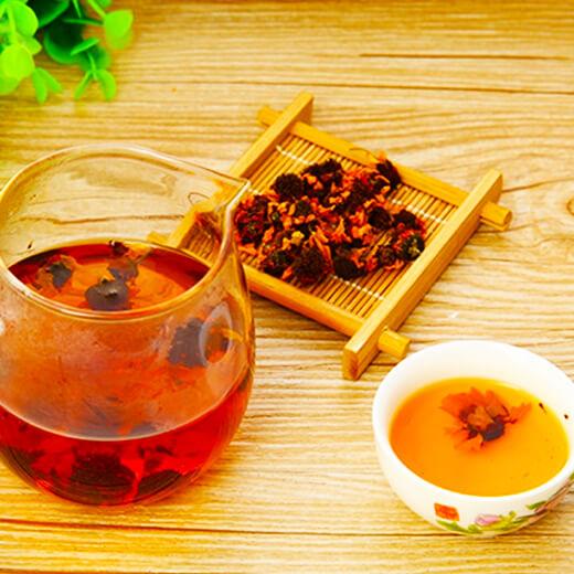 #爱美食#雪菊枸杞茶