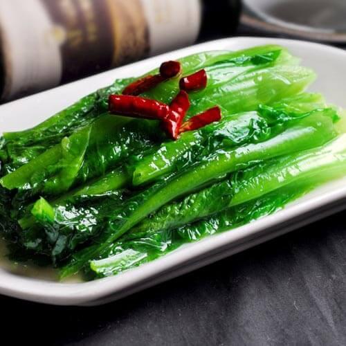 酸味嫩油麦菜